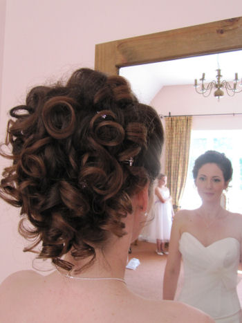 © Bridal Hair and Wedding Styles by Helen Tozer 4 - Emma 1