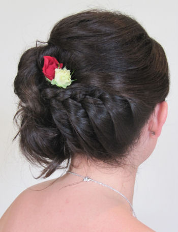 Bridesmaids Wedding Hair - Lianne BM 4