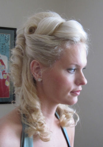 © Bridesmaids Wedding Hair - Natalie 3