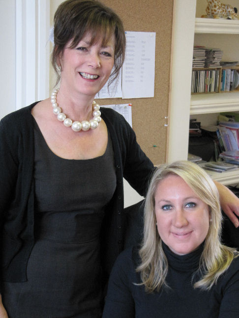 Helen with Rachel Morgan, Editor of Wedding Ideas Magazine
